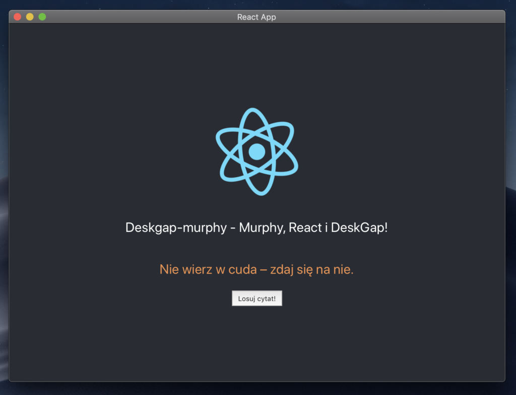 Aplikacja deskgap-murphy